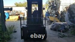 12,000# Hyster E120XL 36V Electric Forklift 189 3-Stage withSS & 36V Charger
