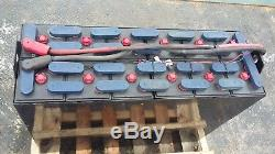 12-125-17 24 volt 38x13.5x30.75 FORKLIFT BATTERY tested, serviced, clean. 1000ah
