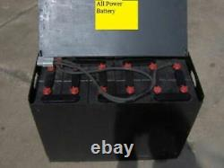 12-85-13 24 volt FORKLIFT BATTERY RECONDITIONED VERY GOOD Can Ship