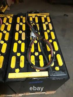 18-100-17 36volt FORKLIFT BATTERY SERVICED GOOD 800 ah. Ready to ship! #2