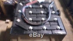 18-125-13 36 volt SWEEPER, SCRUBBER, FORKLIFT BATTERY tested & serviced