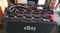 18-125-19 36 volt DEKA FORKLIFT BATTERY tested excellent & fully serviced