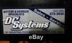 18-85-17 33 36 volt FORKLIFT BATTERY SERVICED & TESTED EXCELLENT CONDITION