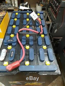 18-85-17, 36 volt, 680AH FORKLIFT BATTERY tested good & fully serviced