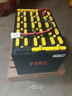 18-85-21, 36 volt, 850AH FORKLIFT BATTERY tested good & fully serviced