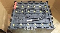 18-85-29 36 volt FORKLIFT BATTERY tested 4 hours, serviced & clean