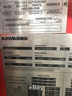 2004 (Cert in 2012) Raymond Reach EASi-R45TT withnew battery & charger, 4442 hrs