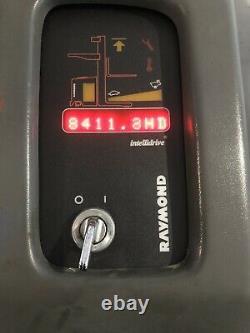 2012 Raymond Forklift Reach Truck Model EZ R40TT 4000LB Cap. Battery Charger Inc