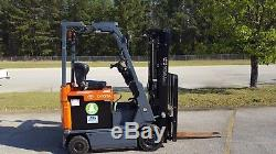 2013 Toyota 7FBCU15 Forklift Truck, Includes CHARGER & 2018 BATTERY