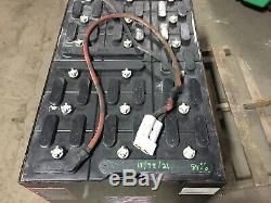2014 36 Volt Forklift Battery 18-85-21 dim 38x 24 3/8 x22 5/8 Tested