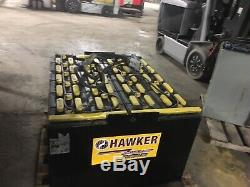 2014 Hawker 48 Volt Forklift Battery 24-85-21 24x85x21