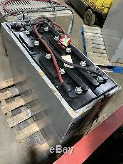 2016 24volt 875ah Enersys 12-125-15 Forklift Battery, Excellent Condition Clean