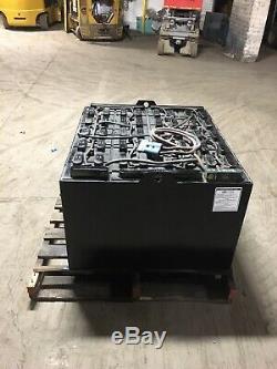 2016 GNB 48 Volt Forklift Battery 24-85-21 24x85x21 Tested