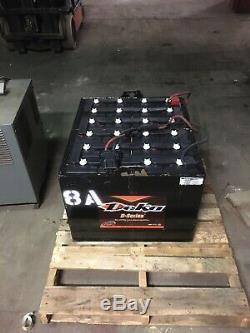 2018 Deka 48 Volt Forklift Battery D Series 24xD85X13 Dim 32x28x22