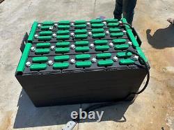 24-85-17 48 volt forklift battery fully refurbished