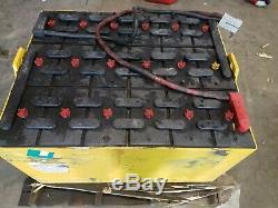 24-85-21 Electric Forklift Battery 5 Hour Battery 80% 48v 38L, 32.5W, 22.5H