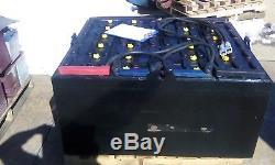 24-85-29 48 volt DEKA FORKLIFT BATTERY tested excellent & fully serviced