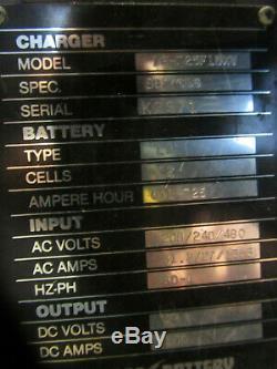24 VOLT FORKLIFT BATTERY CHARGER, LIFEGUARD FERRORESONANT SINGLE PHASE, 240 volt