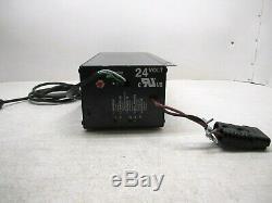 24 Volt Forklift Battery Charger 120 V 9.5 Ac Amps 12 Cells Model Svr2425120ad