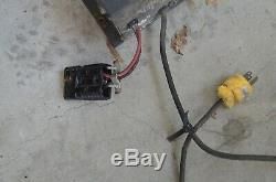 24 Volt Forklift Battery Charger 120 V 9.5 Ac Amps Model Svr2425120ad