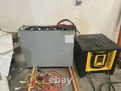 24 Volt Forklift Battery and Charger