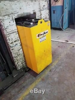 24 volt forklift battery, DEKA 12 Cells with cable for charger
