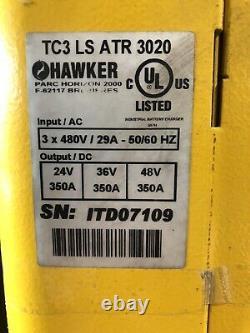 24v / 36v / 48v Forklift Battery Charger 3 Phase Hawker ATR 3020
