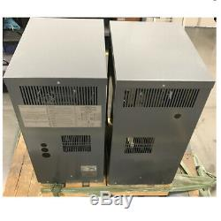 2 NEW Three Phase 36 VOLT Battery Charger 875 AMP HOUR 208/240/480 Volts Input