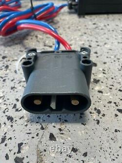 (2) Units Micro-Power SMC-HF 24/60 forklift battery charger Stringo Sharp 24vdc