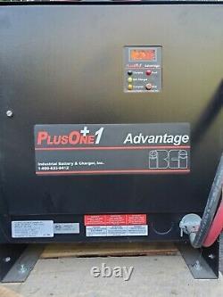 36V PlusOne Mdl# 18P10935C3B Forklift Battery Charger, Ind. Battery & Charge Inc