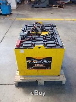 36 Volt 18-D85-17 Forklift Battery 680ah 36V DEKA INDUSTRIAL POWER FULLY TESTED