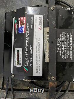 36 Volt Battery Charger 25 Amp 3625OBU Forklift, scrubber, golf cart