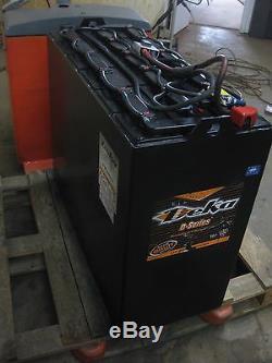 36 volt forklift battery 18 125 13 750 amp hour 38x1631 dimensions 80. Black Bedroom Furniture Sets. Home Design Ideas