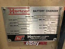 36 Volt Hertner Battery Charger 10SF18-600 Electric Forklift Pallet Truck