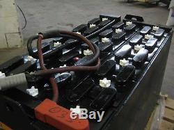 36 Volt Industrial Forklift BATTERY -18-85-17- 680 Amp Hour Reconditioned 75%