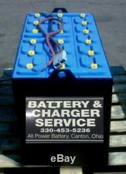 36 Volt Reconditioned Forklift Battery 18-125-15 2017 battery 3 years old