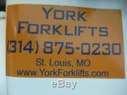 36 Volt Used Forklift BATTERY 18-125-17 1000 Amp Hour