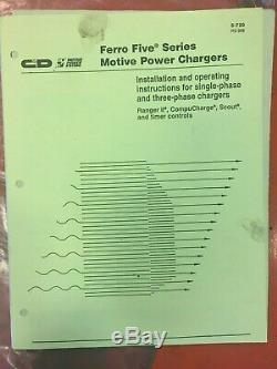 48V Ferro Five Forklift battery charger