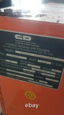 48 Volt Fork Lift Battery Charger 24V 3 Phase. Hour Capacity 641641 to 935