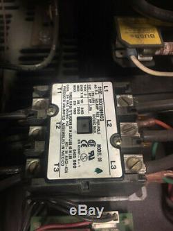 (9) Kodiak Forklift Battery Chargers 24V 750 AH 3 Phase Model 12K750B3