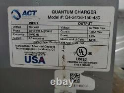 ACT Quantum Q4-24/36-150-480 24/36 Volt Charger TX