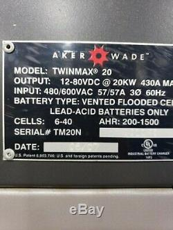 AKER WADE TWINMAX 20 with STAND, Much Faster than TWINMAX 15 and 10, See Details