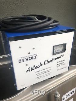 Alltech Electronics 24 Volt, Forklift, Golf Cart, Sweeper Battery Charger