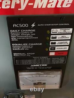 Ametek 750M1-18C 36V Forklift Battery Charger 750 AH 208/240/480V Single Phase