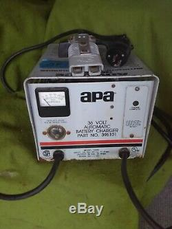 Apa lester 36V 20A Battery Charger #395101. Anderson SB175A working tested