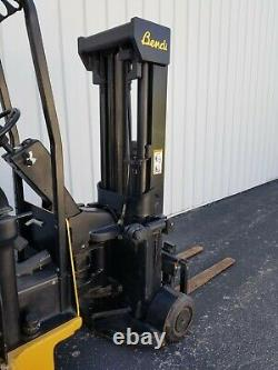 BENDI B40/48E Narrow Aisle Articulated Electric Forklift, with Charger