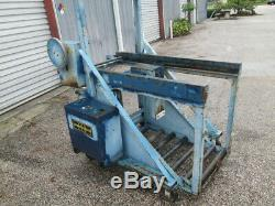 BHS Electric Forklift Battery Transfer Handling System Extractor Carriage Lift