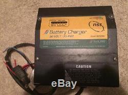 Battery, Charger, 36 volt, 25 amp, Pro Charging, Golf Cart, Forklift Ect, 2