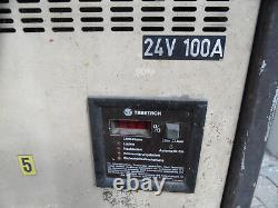 Battery Charger For Forklift Tebetron 24v 100A