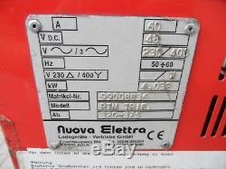 Battery Charger for Forklift Nuova Elettra Rtm Trif 48V 400V 60A